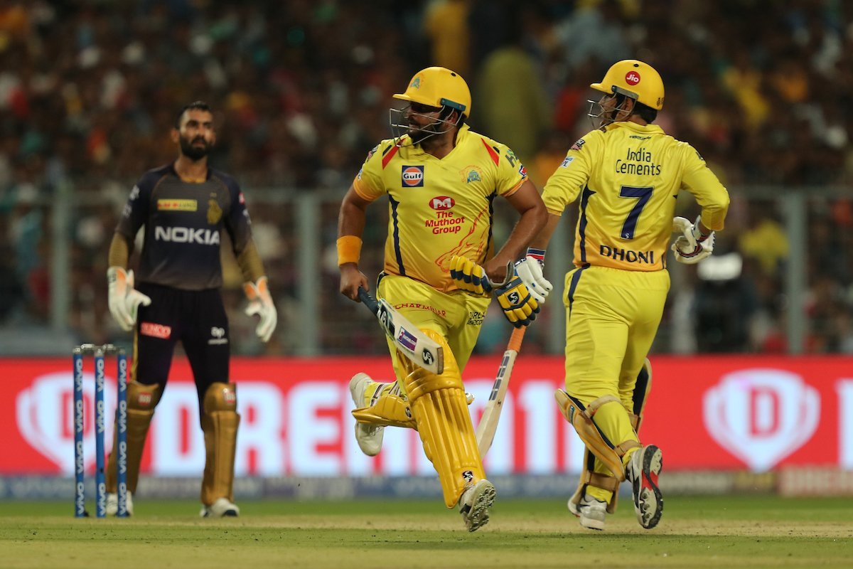 Raina guided victory against KKR in IPL 2019 Match 29