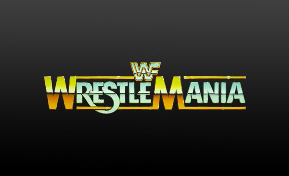 wrestlemania 1 logo wallpaper