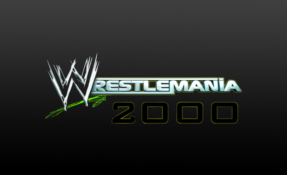wrestlemania 2000 logo wallpaper