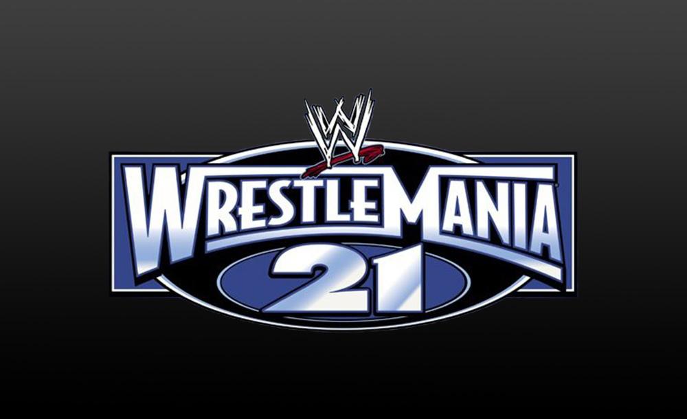 wrestlemania 21 logo wallpaper