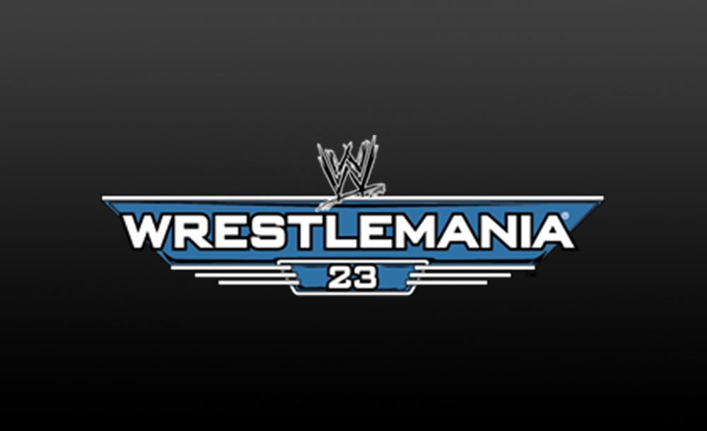 wrestlemania 23 logo wallpaper