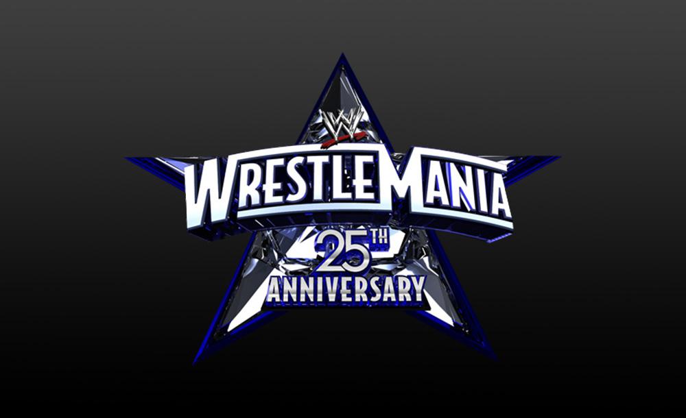 wrestlemania 25th Anniversary logo wallpaper