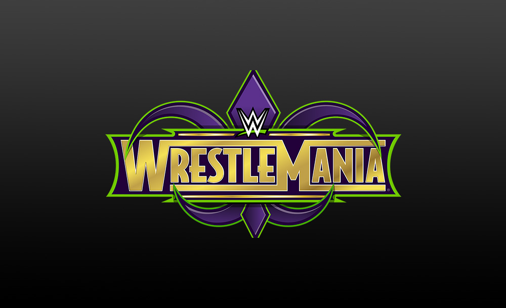 wrestlemania 34 logo wallpaper