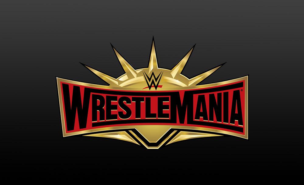 wrestlemania 35 logo wallpaper