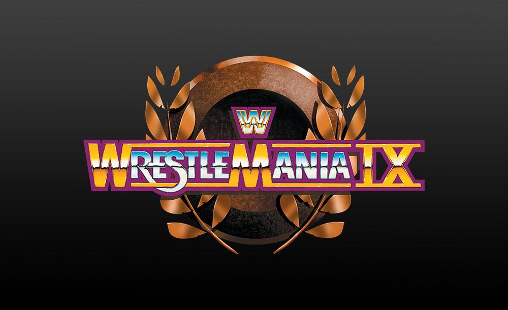 wrestlemania IX logo wallpaper