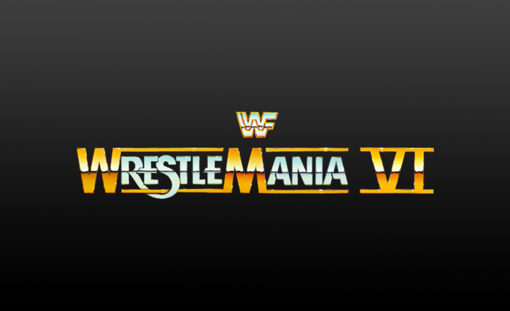 wrestlemania VI logo wallpaper