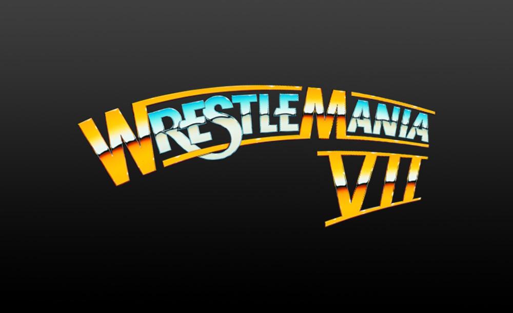 wrestlemania VII logo wallpaper