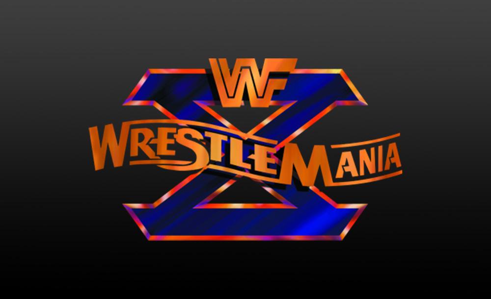 wrestlemania X logo wallpaper
