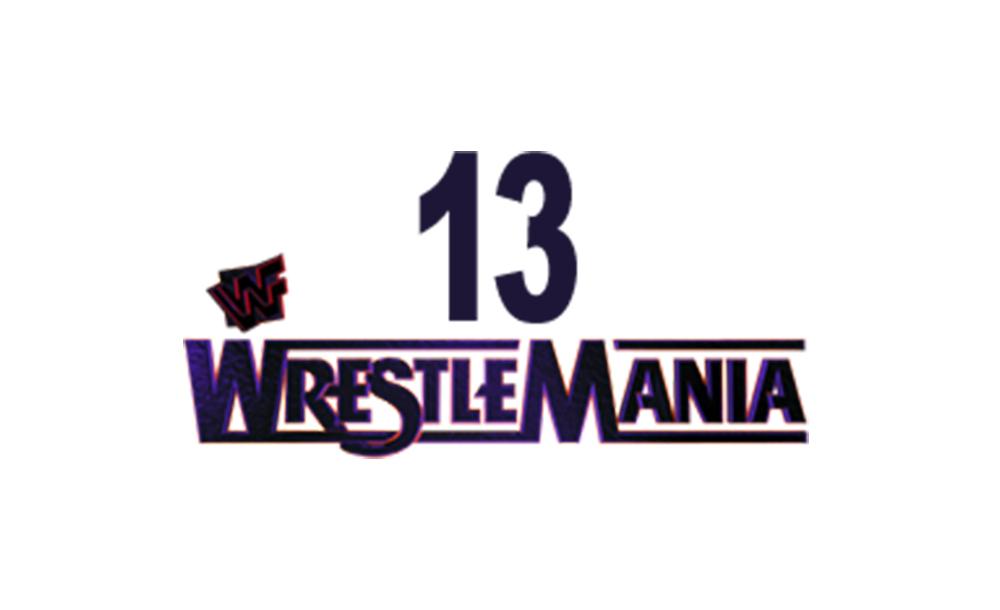 wrestlemania XIII logo wallpaper