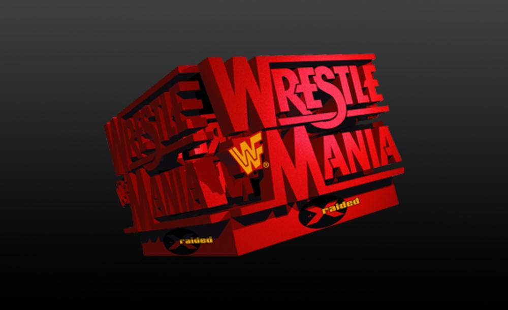 wrestlemania XIV logo wallpaper