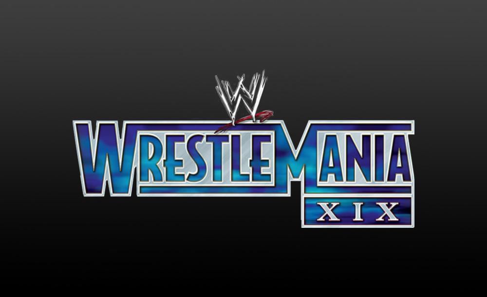 wrestlemania XIX logo wallpaper