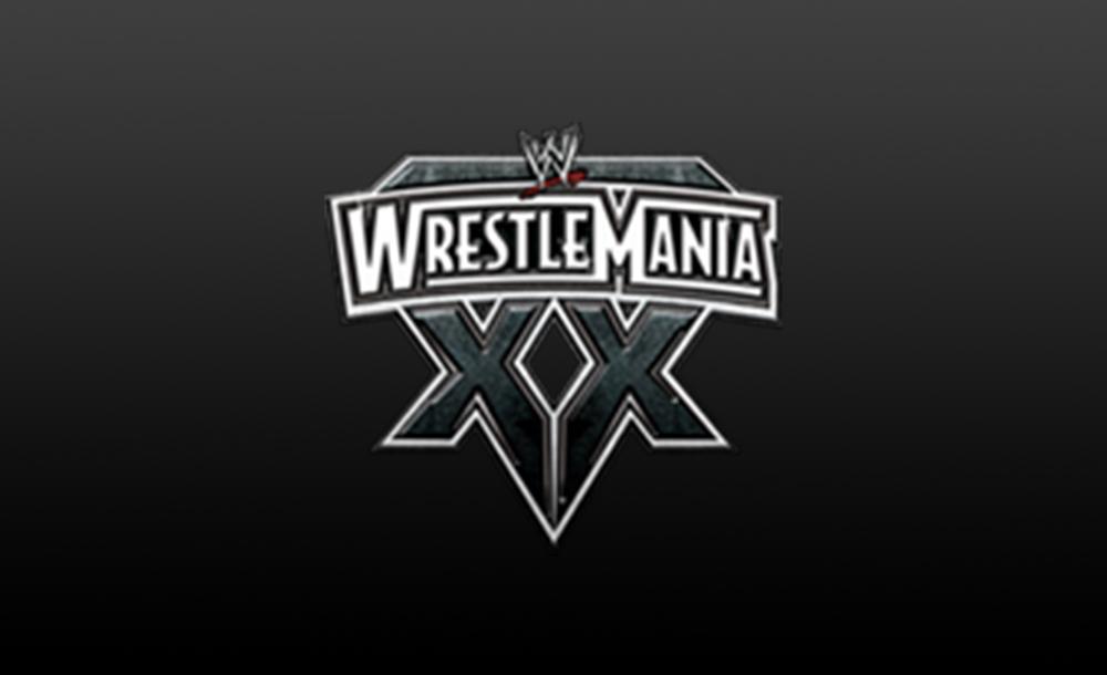 wrestlemania XX logo wallpaper