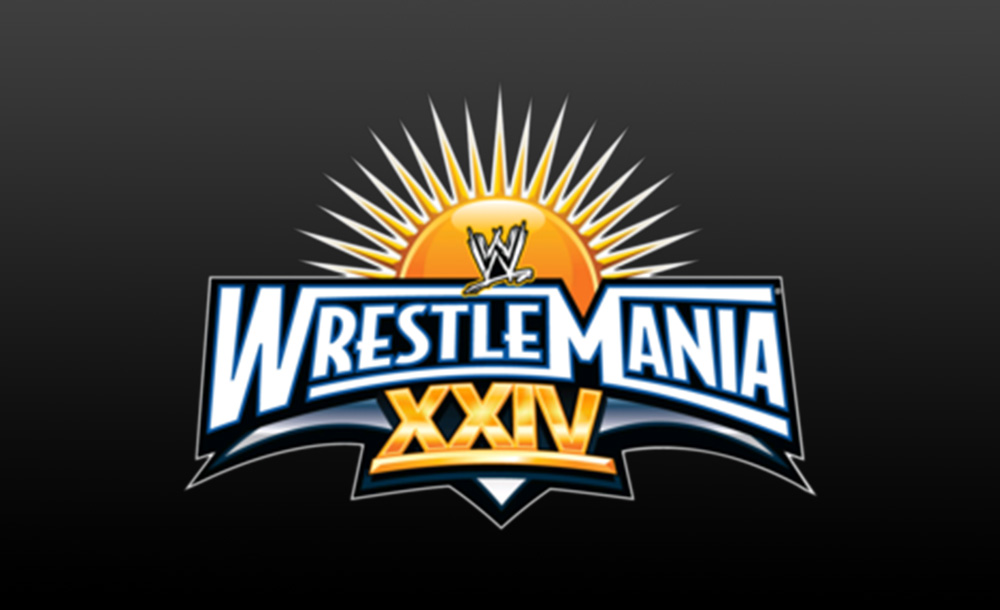 wrestlemania XXIV logo wallpaper