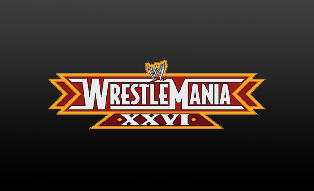 wrestlemania XXVI logo wallpaper