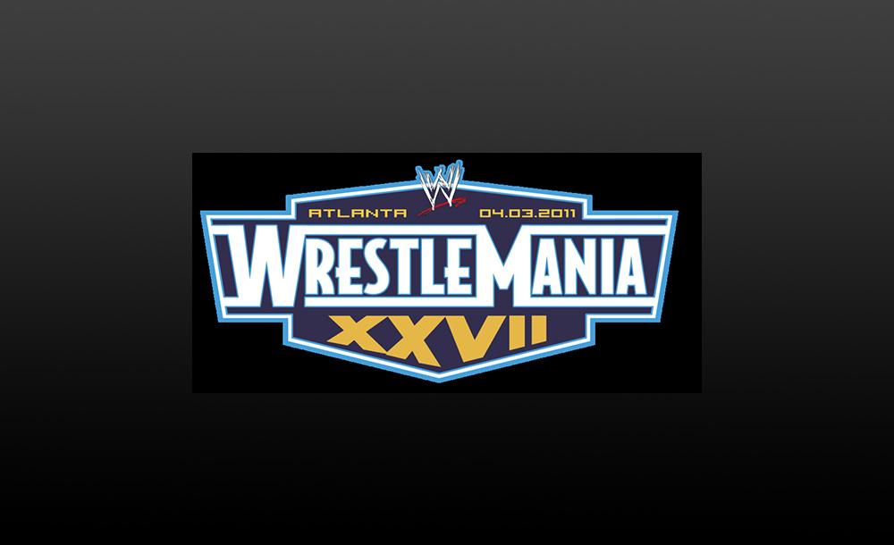wrestlemania XXVII logo wallpaper