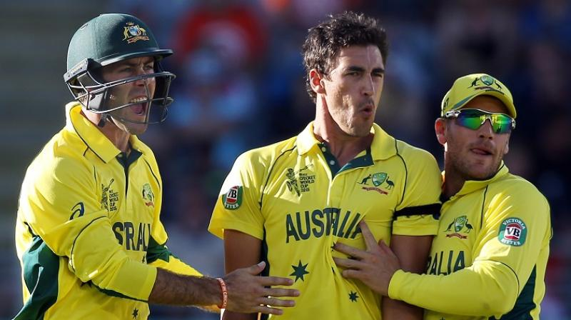 Australia players ready for the world cup