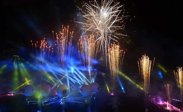 Copa america opening ceremony fireworks