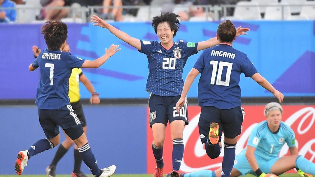 Japan womens football player