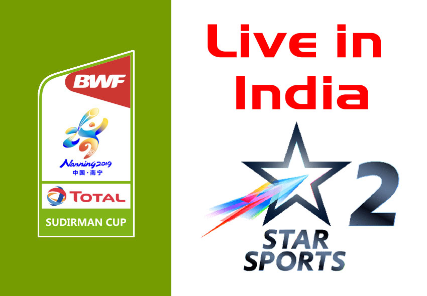 Star sports 2 to broadcast sudirman cup live in india