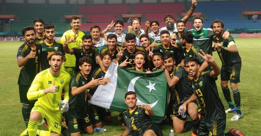 pakistan football team for 2022 world cup qualifiers
