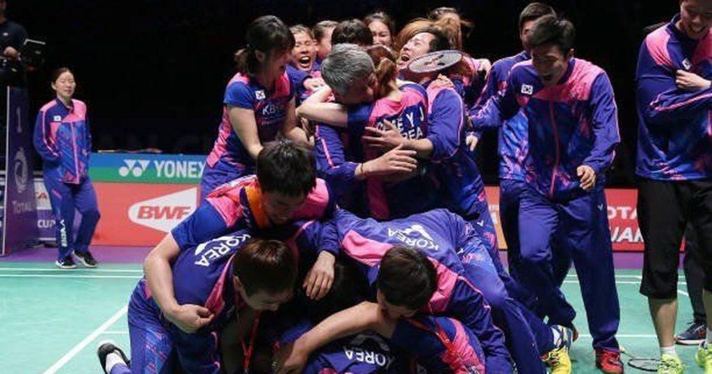 south Korea winner of Sudirman cup 2017