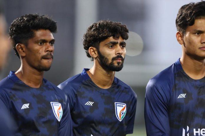 India vs UAE friendly football