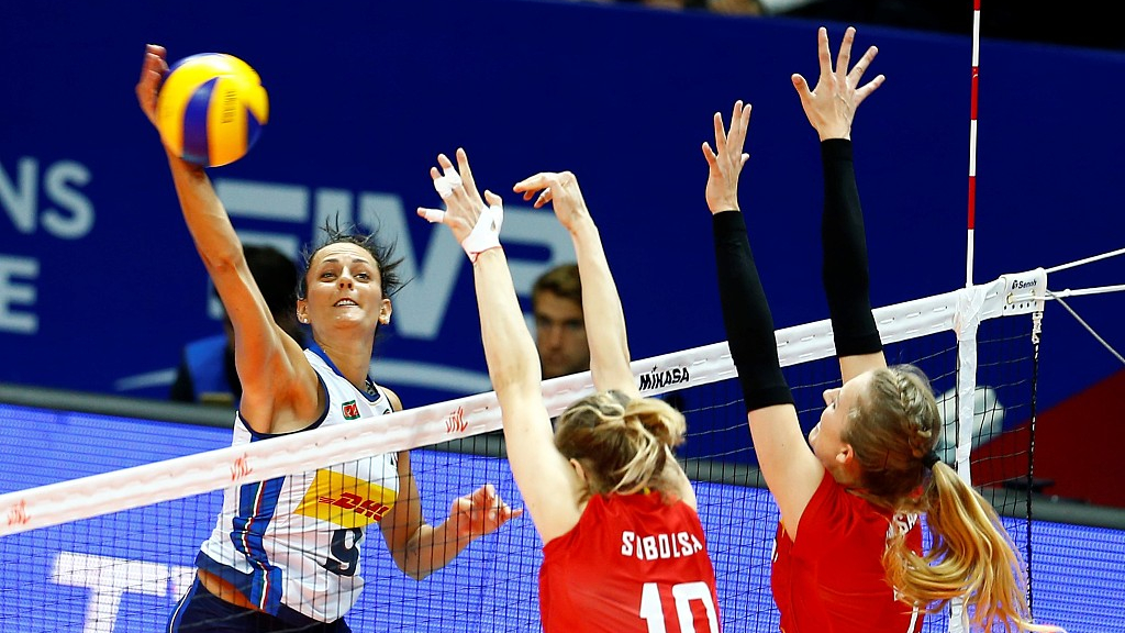Volleyball womens nations league
