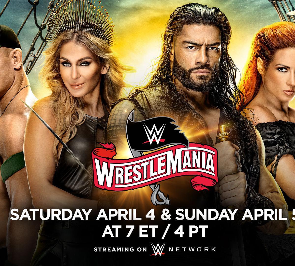 Enjoy WrestleMania 36 Live online