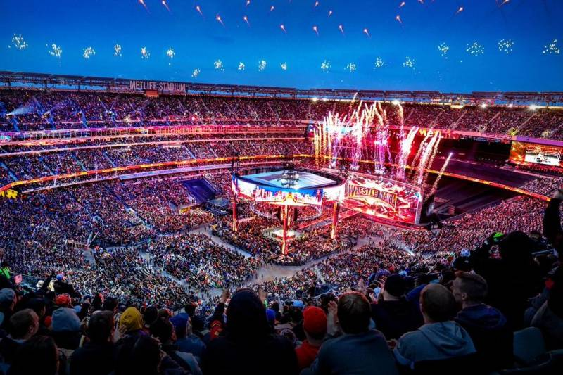 First Time No Fans in WWE WrestleMania 36
