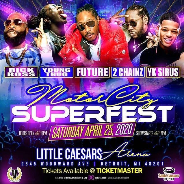 Motor City SuperFest 2020 Events