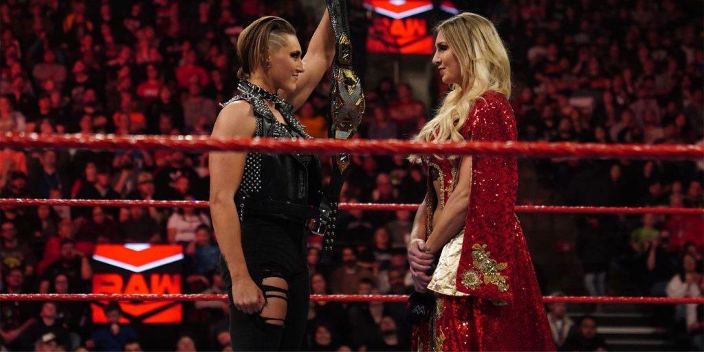 Rhea Ripley vs Charlotte Flair fight of WrestleMania 36 live online