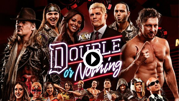 AEW Double or Nothing 2020 live online
