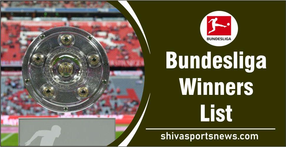 Bundesliga winners
