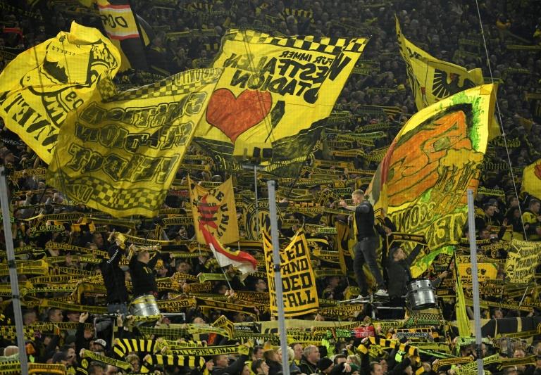 Dortmund fans ready to cheer their club in Bundesliga