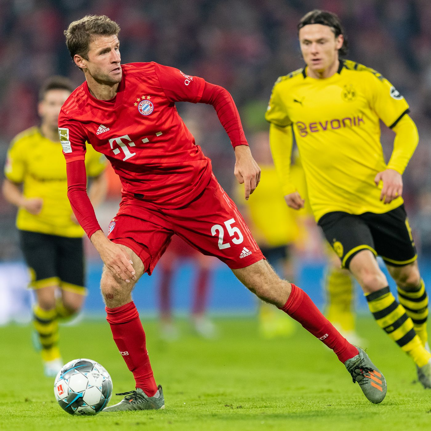 Dortmund vs Bayern Munich HD wallpaper