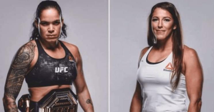 Felicia Spencer vs Amanda Nunes UFC 250 Fight HD wallpaper