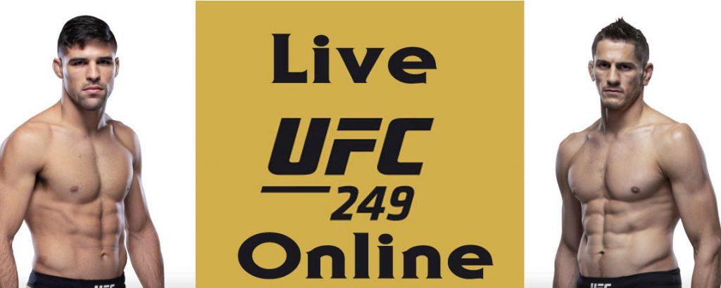 Luque vs Price UFC 249 Fight live