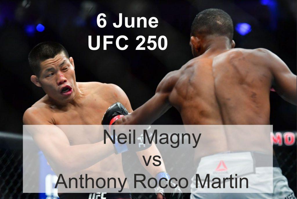 Neil Magny vs Anthony Rocco Martin 6 June UFC 250