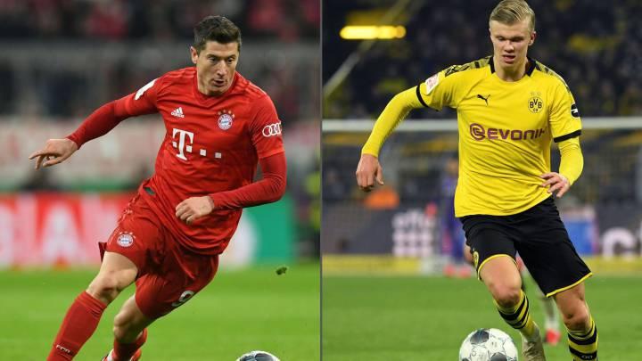 Players ready for Dortmund vs Bayern Munich Tuesday 26 May clash
