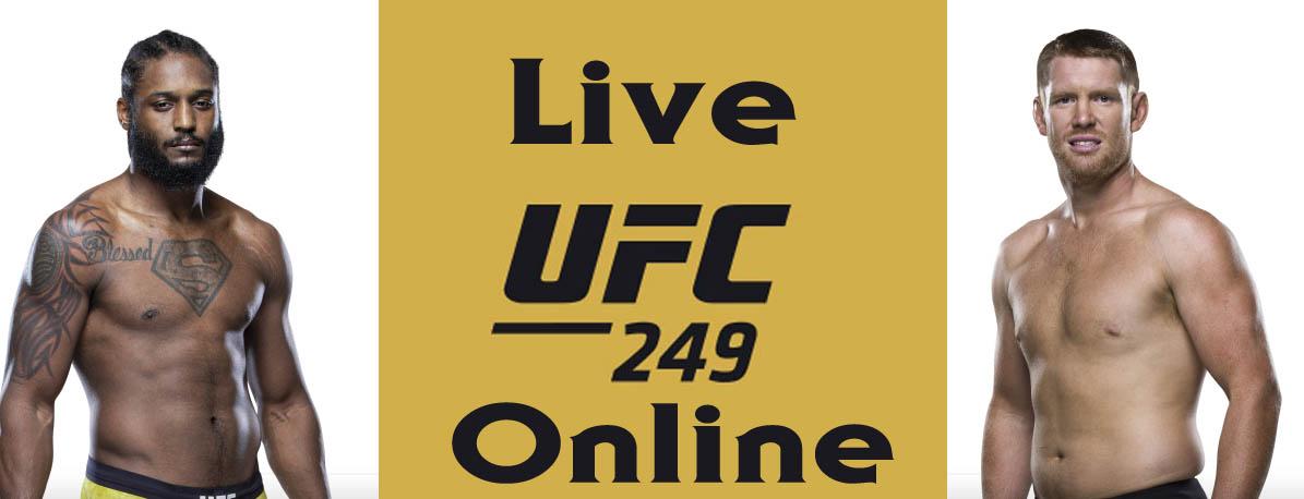 Ryan Spann vs Sam Alvey ufc 249 live