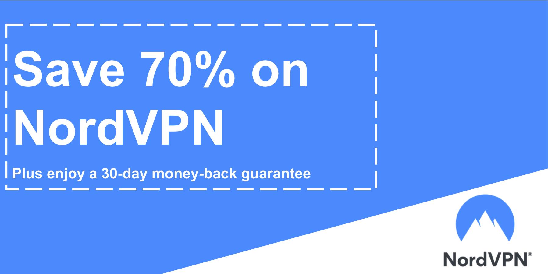 NordVPN Coupon 70 Discount