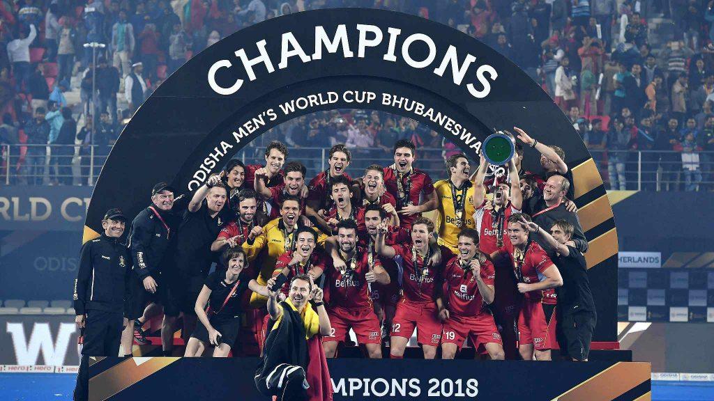 Belgium winners of Hockey world cup 2018