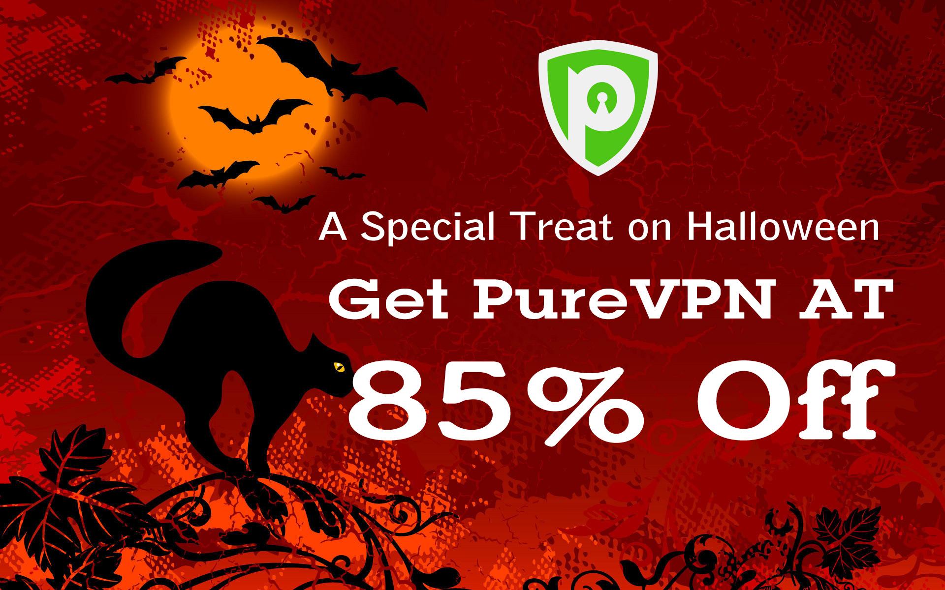 PureVPN Deals on Halloween 2020