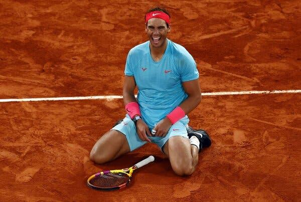 Rafael Nadal winner of French open 2020