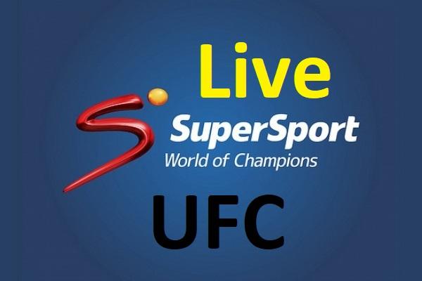 Watch UFC live on Supersport