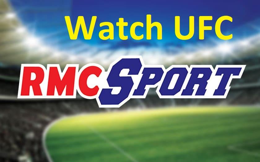 Watch UFC on RMC sport