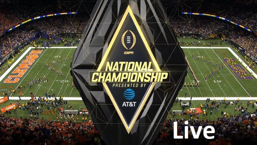 CFP National championship live stream
