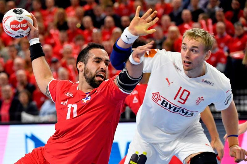 Egypt vs chile handball