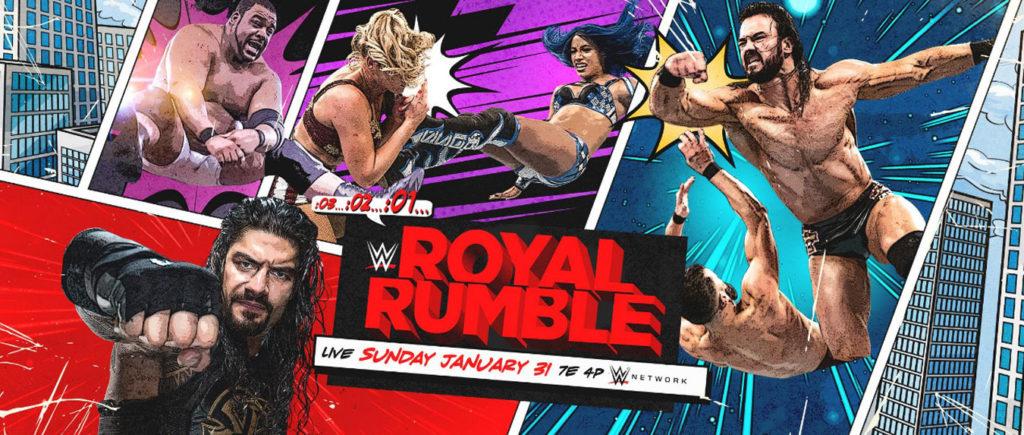 Royal Rumble 2021 wallpaper