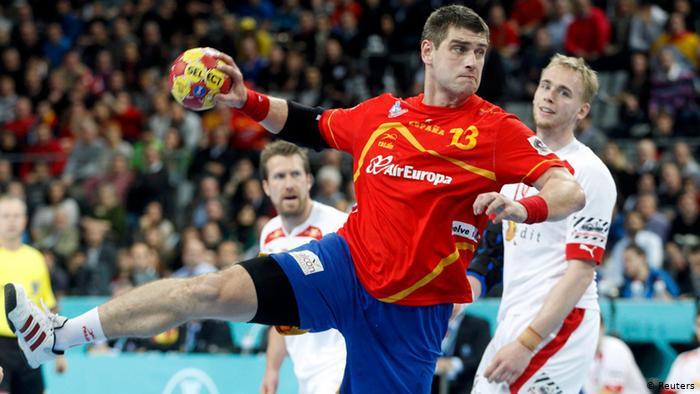 Spain vs Denmark handball